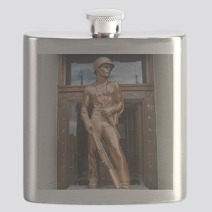 Butte, Montanas Copper Soldier Flask