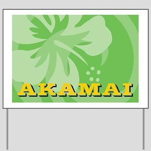Akamai Pillow Case Yard Sign