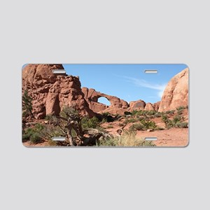 Arches National Park, Utah, Aluminum License Plate