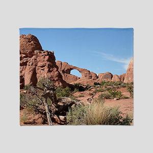 Arches National Park, Utah, USA Throw Blanket