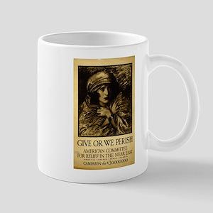 Give Or We Perish - Wladyslaw T Benda - 1917 - Pos