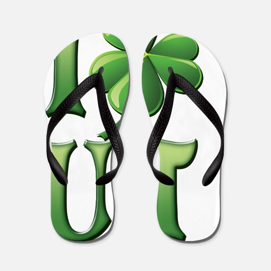 I Love Utah Flip Flops