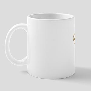 Scotland style oval rugby ball Mug