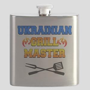 Ukrainian Grill Master Flask