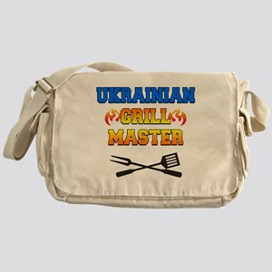 Ukrainian Grill Master Messenger Bag