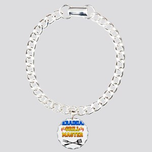 Ukrainian Grill Master Charm Bracelet, One Charm