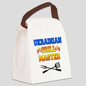 Ukrainian Grill Master Canvas Lunch Bag