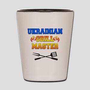 Ukrainian Grill Master Shot Glass