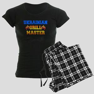 Ukrainian Grill Master Women's Dark Pajamas