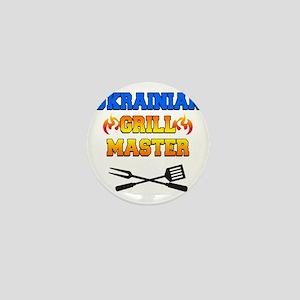 Ukrainian Grill Master Mini Button