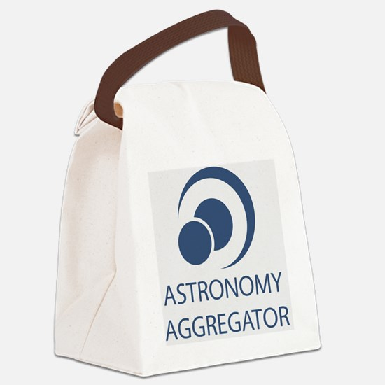Astronomy Aggregator Canvas Lunch Bag