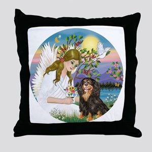 AngelLove-Cav-BT-R Throw Pillow