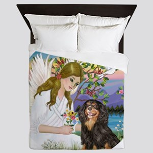 AngelLove-Cav-BT-R Queen Duvet