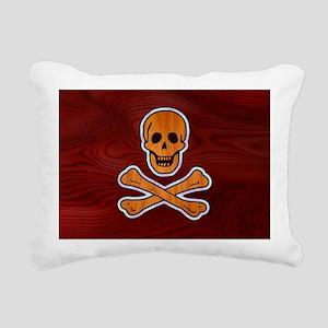 pirate-inlay-OV Rectangular Canvas Pillow