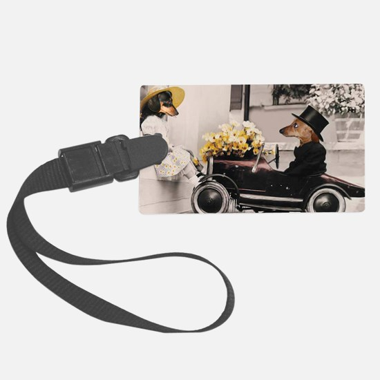 Old Fashioned Doxies Luggage Tag