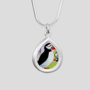 Vintage 1978 Faroe Islan Silver Teardrop Necklace