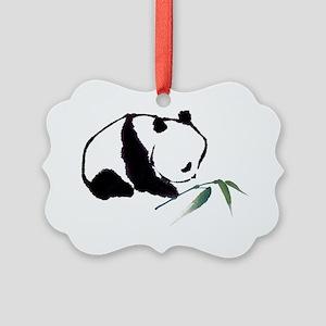 Chinese Panda art Picture Ornament