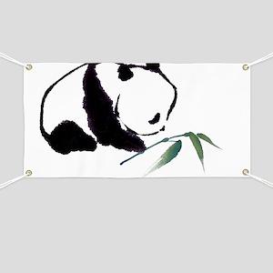 Chinese Panda art Banner