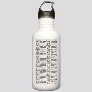 Diagnosis from urine,  Stainless Water Bottle 1.0L