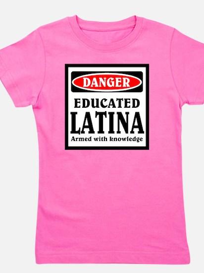 Educated Latina Girl's Tee