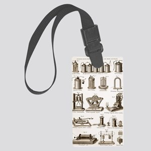 19th Century electrical equipmen Large Luggage Tag