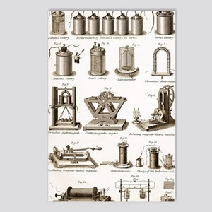 19th Century electrical e Postcards (Package of 8)