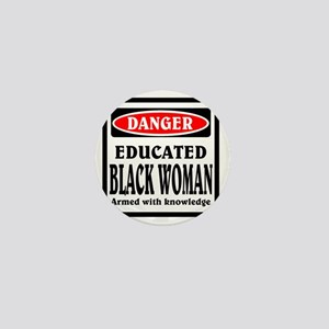 Educated Black Woman Mini Button