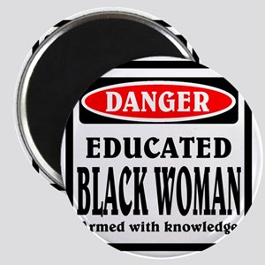 Educated Black Woman Magnet