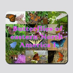 Butterflies of eastern North America Mousepad