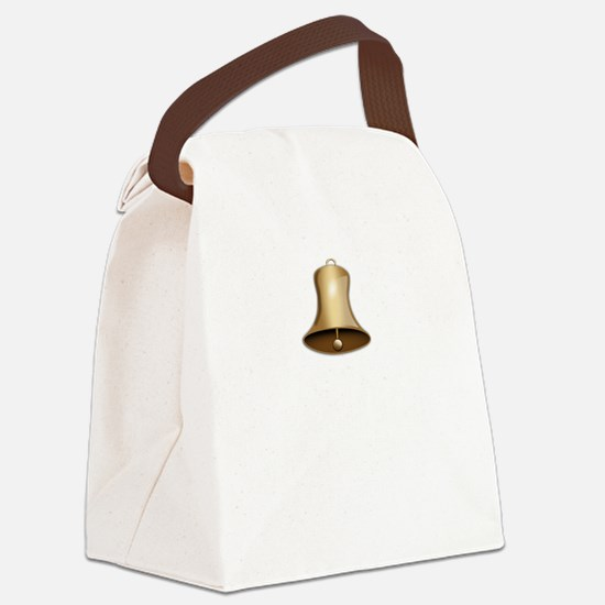 Pavlov Ring Bell Canvas Lunch Bag