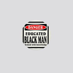 Educated Black Man Mini Button