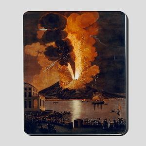 Eruption of Vesuvius, 1779 Mousepad