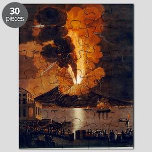 Eruption of Vesuvius, 1779 Puzzle
