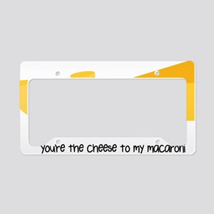Macaroni and Cheese License Plate Holder