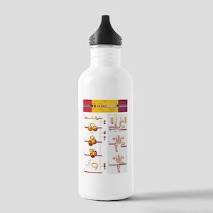 Gene splicing, diagram Stainless Water Bottle 1.0L