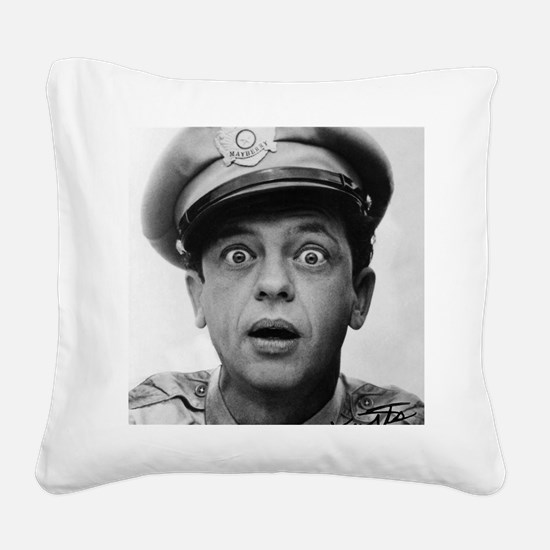 My Dad Don Knotts Square Canvas Pillow