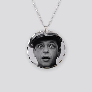 My Dad Don Knotts Necklace Circle Charm