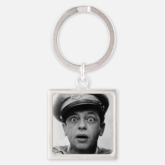 My Dad Don Knotts Square Keychain