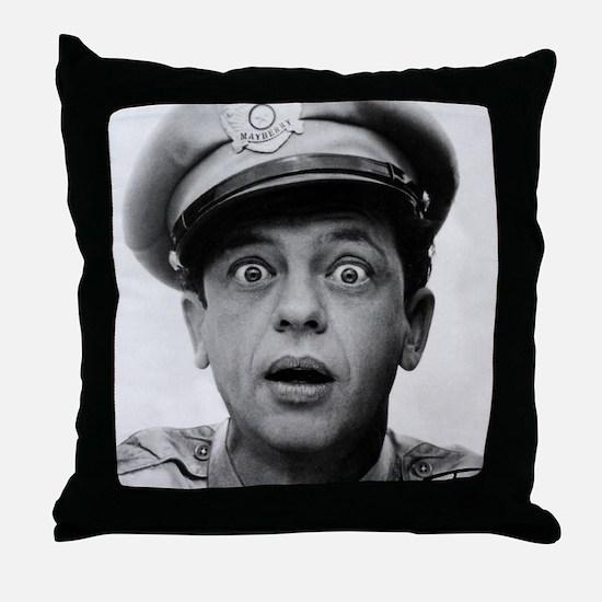 My Dad Don Knotts Throw Pillow