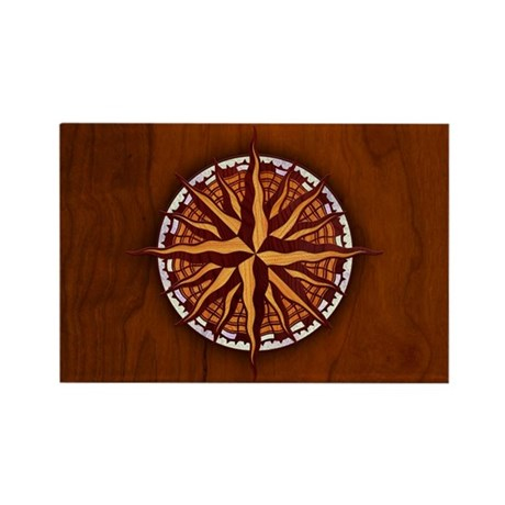 compass-inlay-OV Rectangle Magnet