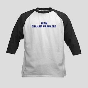 Team GRAHAM CRACKERS Kids Baseball Jersey
