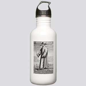 Plague doctor, 17th ce Stainless Water Bottle 1.0L