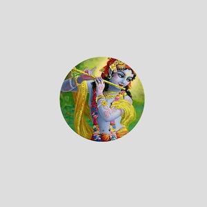 I Love you Krishna. Mini Button