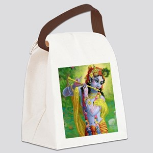 I Love you Krishna. Canvas Lunch Bag