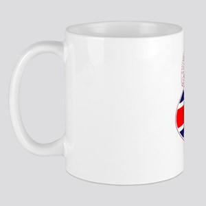 Cafe racer British flag Mug