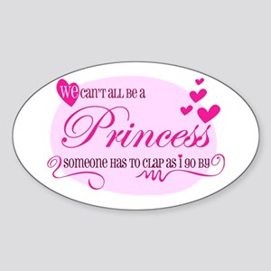 I'm the Princess Sticker (Oval)