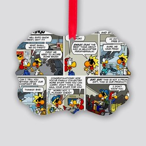 2L0114 - Helicopter swag Picture Ornament