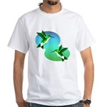 Hummingbirds White T-Shirt