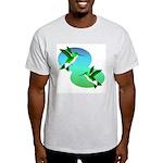 Hummingbirds Ash Grey T-Shirt
