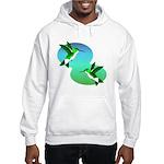 Hummingbirds Hooded Sweatshirt